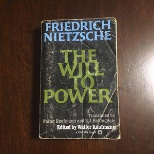 """Friedrich Nietzsche """"The Will To Power"""""""